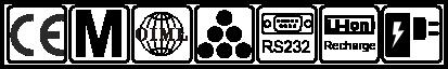 CE, metrologie, OIML, numarare, RS232, baterie Li-Ion, adaptor priza